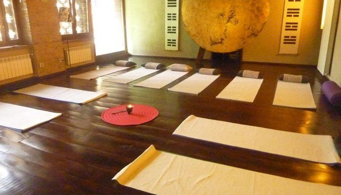 Il dojo per i corsi di shiatsu