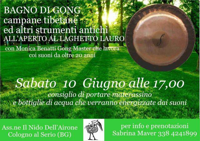 Bagno di gong il nido dell 39 airone - Bagno di gong effetti negativi ...