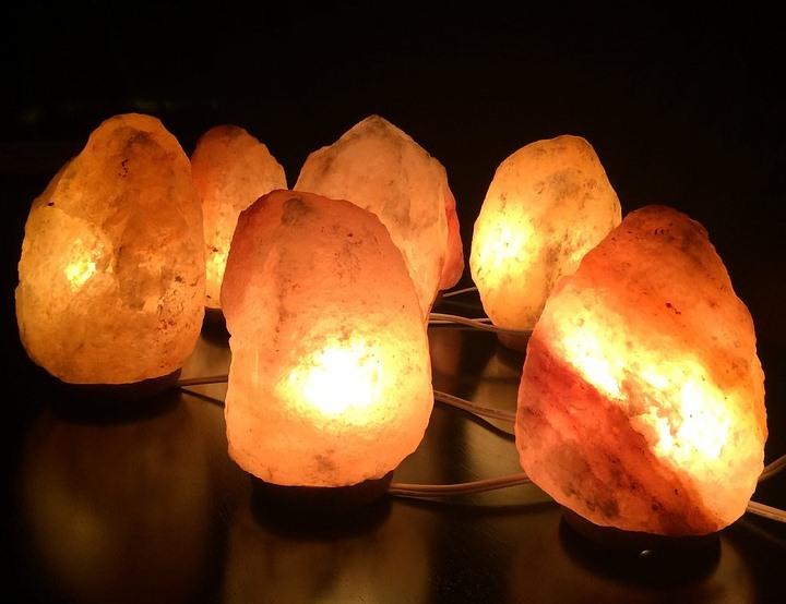 Lampade Cristallo Di Sale : Lampade di sale per il benessere fisico e spirituale u il nido